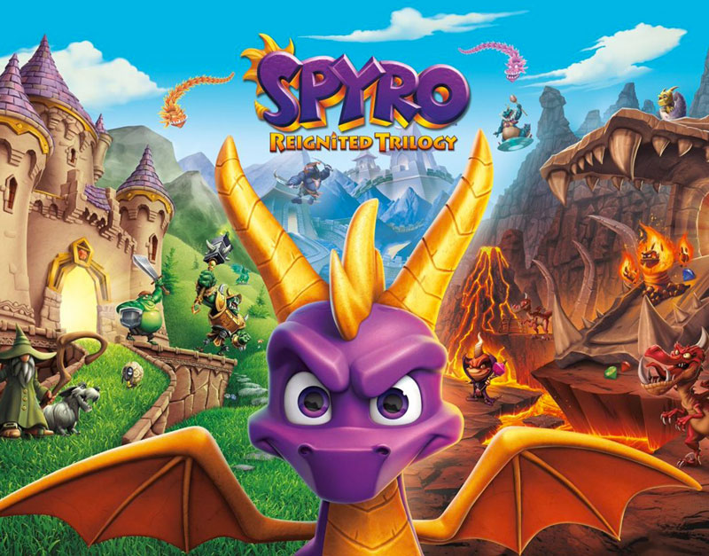 Spyro Reignited Trilogy (Xbox One), The Gaming Habits, thegaminghabits.com